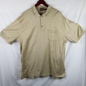 Tasso Elba Golf Polo Shirt XXL Mens SS